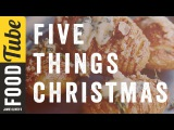 5 Things To Do At.Christmas Food Tube Classic Recipes #TBT