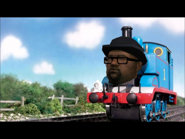 Big Smoke raps his order with Thomas the Tank Engine as the beat