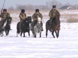 21 февраля из Борского стартовал конный казачий поход команды Навигатор 63