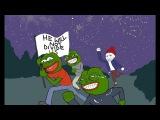 Как Шайа Лабаф проиграл троллям с 4chan. He Will Not Divide Us #HWNDU #AloneTogether Победа Пепе