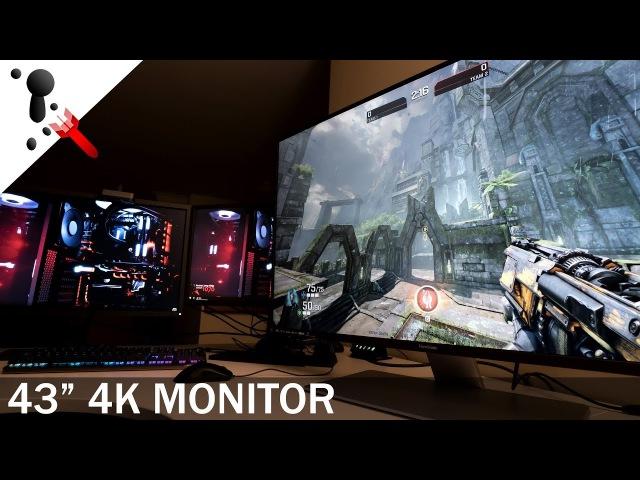 ViewSonic VX4380-4K Review (10bit IPS 43 Monitor)