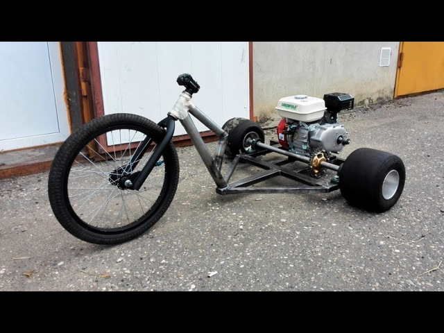 DIY Мото-дрифт Трайк! - Часть 1! СОБИРАЕМ (drift trike motorized)
