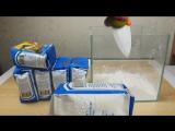 При монтаже видео про Неньютоновскую жидкость у меня был такой вариант )))) Но потом я передумал