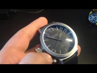 Прикольный обзор копии часов U-BOAT U-1001 с Aliexpress.