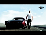 Первая уличная гонка Брайана (Пол Уокер) на Mitsubishi Eclipse. Форсаж