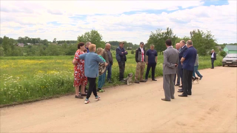 Реализация ППМИ, газификация, дороги - основные темы рабочей поездки председателя Заксобрания ТО в Зубцовский район