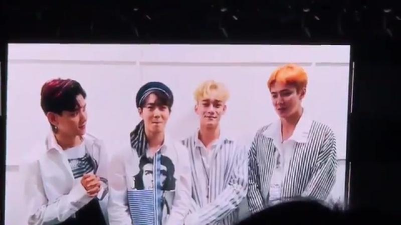 170723 EXO @ Super Junior's Fan Meeting