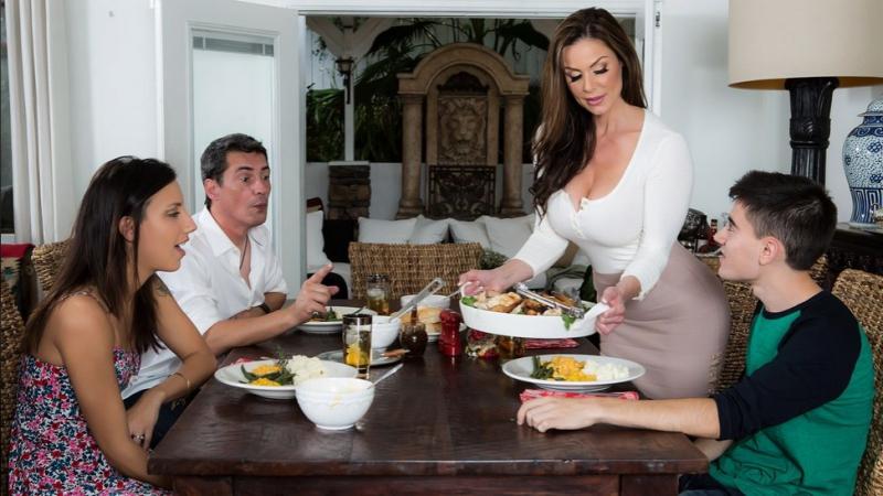 Kendra Lust & Jordi El Niño Polla [HD 720, Big Tits, MILF, Mom, Thanksgiving, Wife]