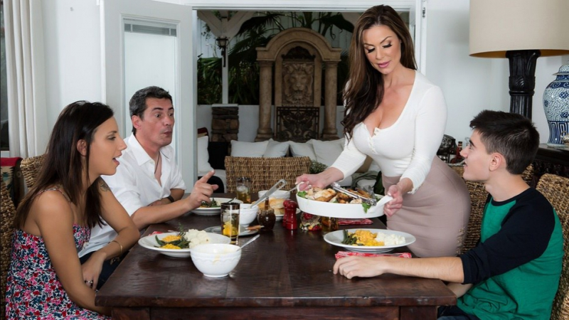 Kendra Lust Jordi El Niño Polla HD 720, Big Tits, MILF, Mom, Thanksgiving,