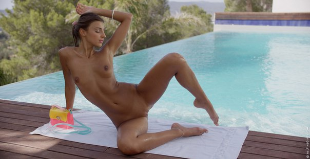AllFineGirls – Pool Time – Melena Maria