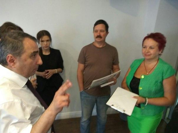 Вчера остоялась встреча с гендиректором НПП СК МОСТ Казаряном Вильгель