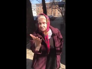 пожилая женщина, Валентина Николаевна- Режет правду-матку о внутренней политике и чутка о внешней!