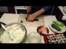 Как делать суши и роллы