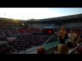 На концерте Элтона Джона.