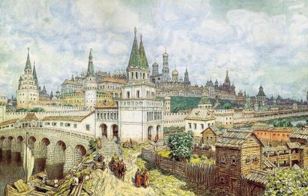 Почти до конца XIX века Москва была