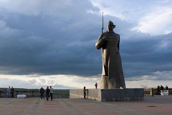 Крепостная Гора в Ставрополе