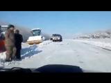 Зимой кладут асфальт трасса Шемонаиха-Усть-Каменогорск incident_uka