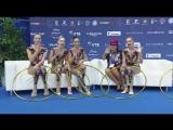 Сборная команда России ГУ - 5 обручей(финал) 18.700