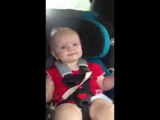 Детская реакция на песню Кэти Перри