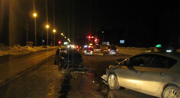 ДТП произошло в Лямбирском районе  В Лямбирском районе столкнулись два