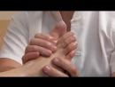 Рефлекторный массаж стоп. Массаж биоактивных точек стоп. Reflexology foot massage. Massage of bioact