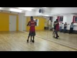 Salsa Social 11.07.2017, KIZOMBA 2,  Тьерри Деа и Оксана Костромина