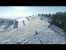 Гірськолижний комплекс Коза, Яблуниця. Відео Sergey Lappo.