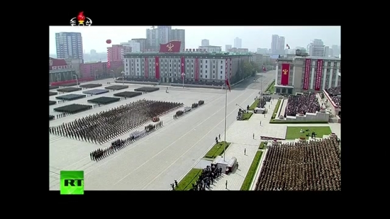 North Korea marks 105th birth anniversary of its founding leader Kim Il-sung with military parade in Pyongyang
