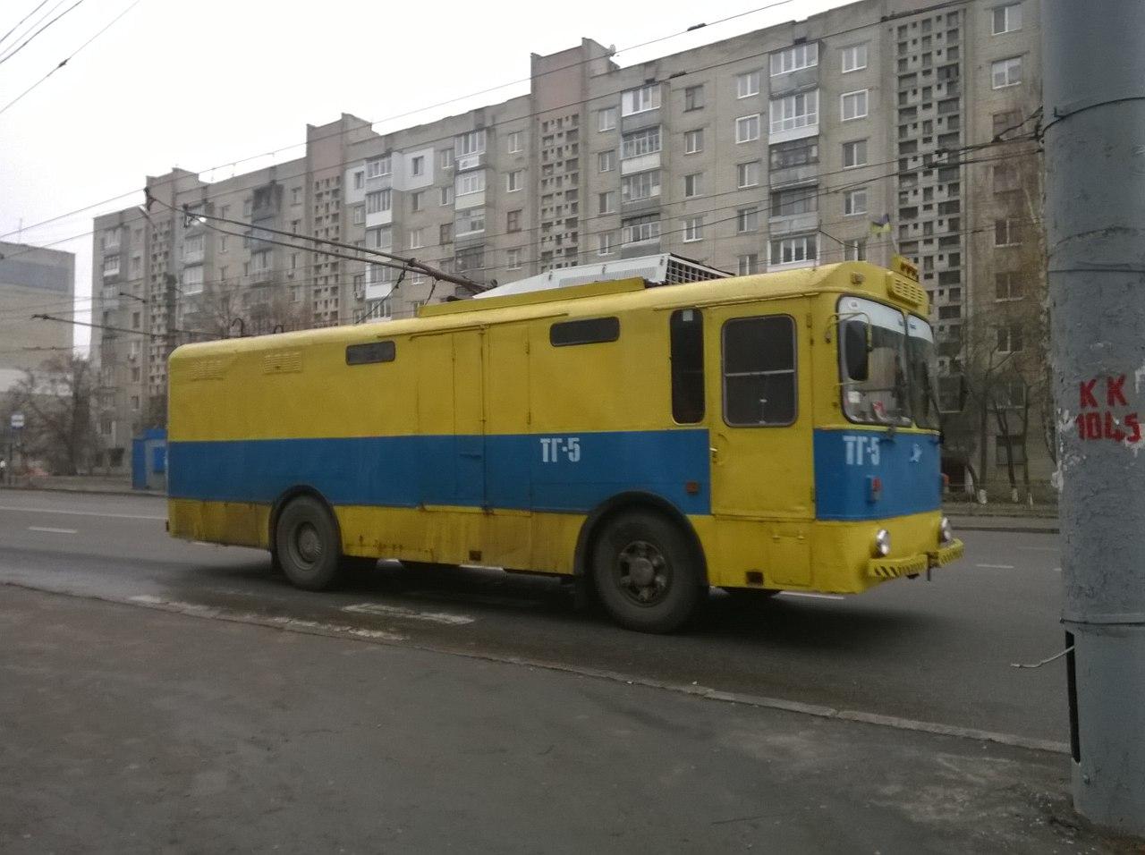 Грузовой троллейбус ТГ-5