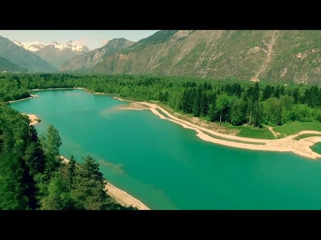 Полёт над озером   Flight over the lake