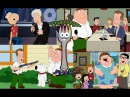 Гриффины в HD - ЛУЧШИЕ МОМЕНТЫ. 46 Джеймс Вудс - новый Питер. ПЕРЕЗАЛИВ