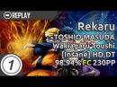 Rekaru TOSHIO MASUDA Wakiagaru Toushi Insane HD DT FC 98 94% 230pp 1