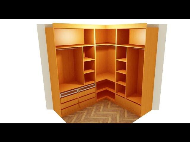 Como hacer un armario en L (resumen)
