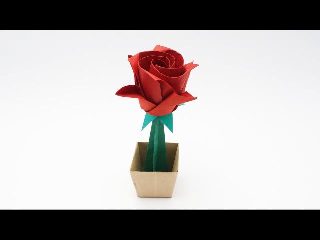 ORIGAMI MASAHIRO ROSE Masahiro Ichikawa Valentine's day