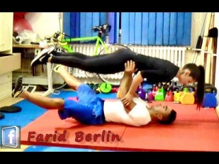 Train together is Fit Forever ♥ Couple Workout ♥ Partner Training ♥ Farid Berlin