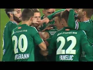 17.Spieltag - Österreichische Bundesliga 2015/16- SK Rapid vs. SCR Altach 3:1 (2:0)