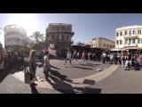 360 video: Allenby Street Performance, Tel Aviv, Israel