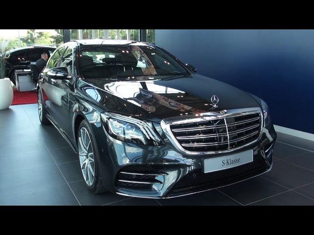 2018 Mercedes S Class Long AMG Full Review NEW S350d Interior Exterior Infotainment