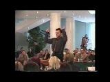 Семён Фролов дирижирует оркестром авторскую музыку ПРИШЕЛЕЦ Orchestra of folk instruments