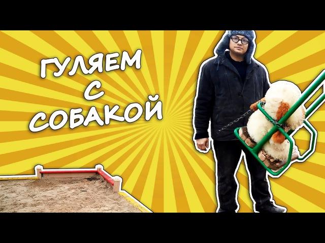 СВОИМИ РУКАМИ - Гуляем с собакой | Мастер class от Бобби | ПРИКОЛ! СМЕХ!