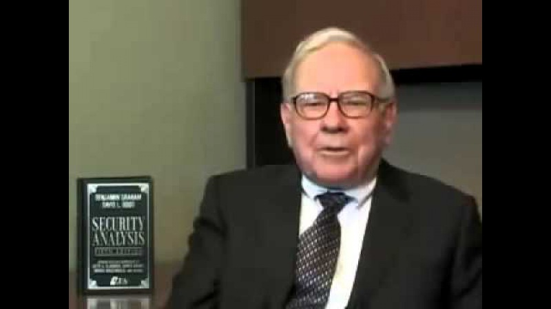 Book that changed warren buffet's life