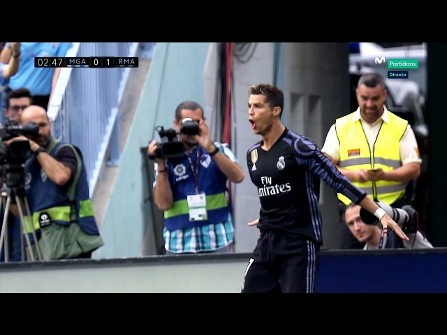 Cristiano Ronaldo Vs Malaga Away (21/05/2017) 2016/17