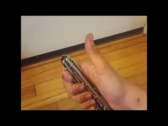 Butterfly Knife Fidget Spinner    ViralHog