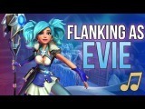 Paladins Song - Flanking as Evie (Walk The Moon - Shut Up and Dance PARODY)