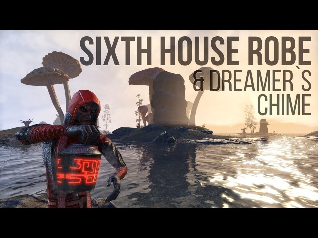 ESO Morrowind: Sixth House Robe Costume Guide Dreamer`s Chime Memento for The Elder Scrolls Online