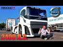 обзор VOLVO на 2400 Л.С. САМЫЙ БЫСТРЫЙ ГРУЗОВИК в МИРЕ / Trucks TV Вольво Железный Рыцарь