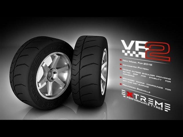 Впечатления от новых Extreme Tyres VR2 Type-S2 2017