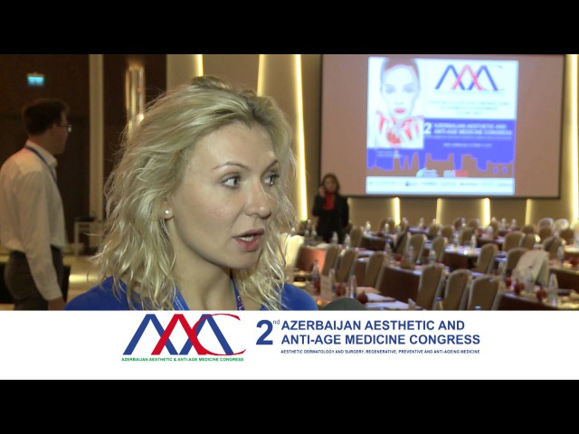 Yulia DYACHENKO, speaker AAAMC-2015. Baku, Azerbaijan