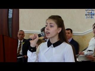 Время, как быстрая птица песня Емельянова Карина 26.02.2017 в ц. Дом Евангелия г. Сумы