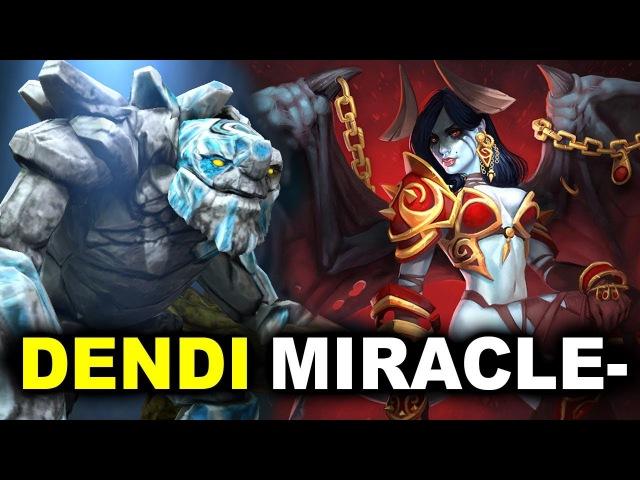 Dendi vs Miracle- GH-God Crit- Black FPL PRO League DOTA 2